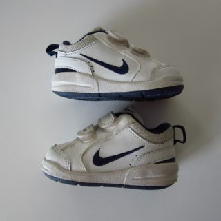 Nike Baby Toddler 3 CW Boys Girls Classic White Navy Sneakers Tennis Shoes