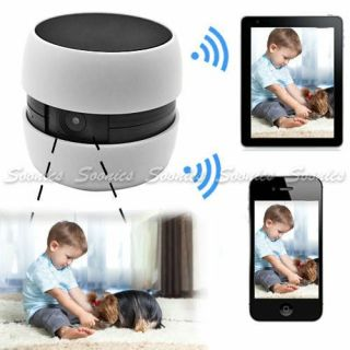Wireless WiFi DVR Baby Monitor Camera Safety for iPhone iPad Android Smartphone
