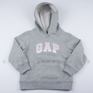 New Baby Gap Girls Logo Hoodie Zip Jacket Sweater Sweatshirt U Pick