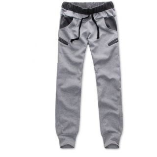 Korean Style Mens Boys Casual Slim Pants Trousers Cool Jogger Sports Sweatpants