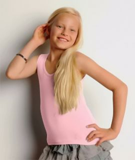 Bella Girls' 100 Cotton Baby Rib Tank Top Sleeveless Shirt New