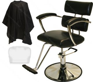Professional Chrome Hydraulic Barber Chair Styling Hair Beauty Salon Equipment