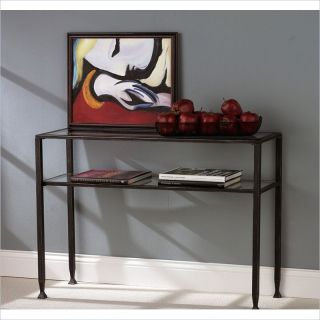 Holly & Martin Guthrie Metal Sofa Table in Distressed Black   01 113 016 6 01