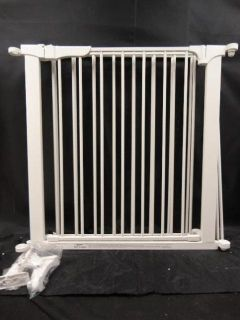 Kidco G3000 Custom Fit Auto Close CONFIGURE Baby Pet Dog Safety Gate White