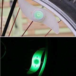 4X Color Set Bicycle Bike Cycling Motorcycle Car Wheel Spoke LED Light Lamp