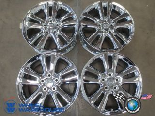 Four 06 07 Toyota Highlander Factory 17 Chrome Wheels Rims 69478 Outright