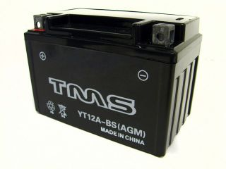 AGM YT12A BS SEALED Battery for Suzuki GSXR GSX R 750 1000 1300 Hayabusa TL1000R