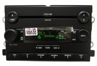 New Face 04 05 06 Ford F 150 Fusion Radio Stereo 6 Disc Changer  CD Player