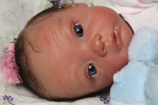 Full Moon Babies Welcomes Sophie by Evelina Wosnjuk Gorgeous Reborn Baby Girl