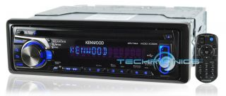 Kenwood KDC X395 2yr WARNTY Car Radio Stereo CD  Player USB Aux KDCX395 New