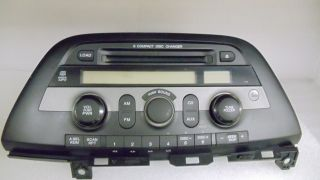 08 09 10 Honda Odyssey Factory Radio Aux  6 Disc CD Player Changer Code 1YU3
