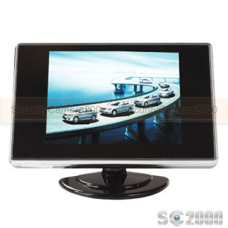 2 CH Video Input 3 5'' Digital TFT LCD Monitor for Security Car Vehicle Camera