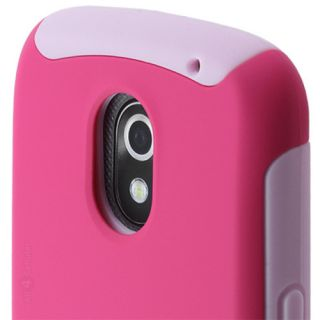 Incipio Silicrylic Case for Samsung Galaxy Nexus Pink Double Cover W'