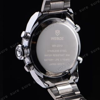 Mens Analog Day Date Watch