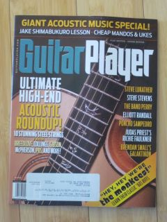 Guitar Player Magazine August 2013 Acoustic Special Jake Shimabukuro Lesson
