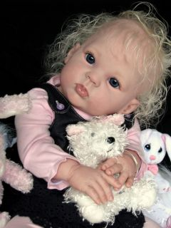 "Reborn Baby Girl Gorgeous ""Annabella"" Donna RuBert ""Cuddles"""