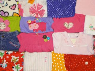 47 Piece Baby Girl Clothes Fall Winter Lot Sizes 6 9 Months Carters More