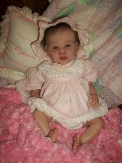Gabriel Reborn Doll Sculpt by Michelle Fagan OOAK Baby Girl Art Doll Tykaems