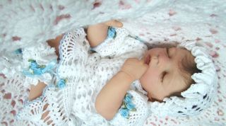 Heirloom Baby Nursery Reborn Baby Marie by Olga Auer OOAK Must See