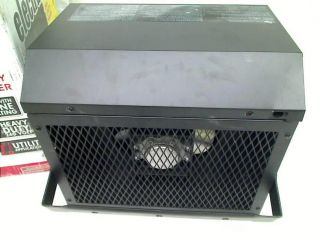 DURAFLAME 72 in 2500 Watt Garage Fan Heater Black