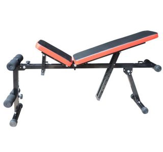 Adjustable Multi Use Multi Position Dumbbell Chair Utility Fitness Bench Sit Up