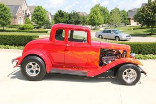 1932 Ford Steel Body 5 Window Coupe Custom Street Rod