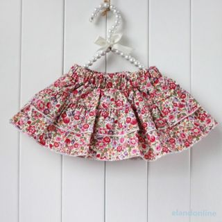 Kids Girls Clothes 2pcs Set Flowers Bow Knot Tops Ruffle Culottes Outfits 0 3Y