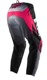Fox Racing Kids Toddler Girls HC 180 Pants Pink Black 4 5 Years 01085 MX Pant