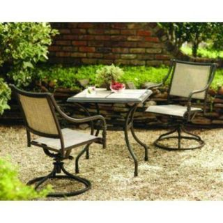 Hampton Bay Andrews Patio Bistro Table $299 00