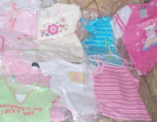 Wholesale Lot 40 Pcs New Mixed Baby Children Kids Toddlers Boys Girls Clothing