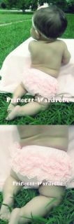 Baby Light Pink Lace Panties Bloomers for Skirt 6M 3Y