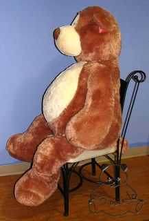 Alfie Teddy Bear Jumbo Stuffed Animal Plush Toy Gund Big Soft Huggable BNWT LG