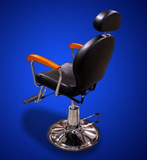 New Mtn All Purpose Barber Salon Spa Beauty Hydraulic Recline Chair Black OAK79