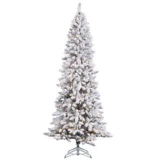 Vickerman 8 White Pine Artificial Christmas Tree with 600 Clear