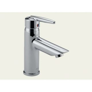 Delta Grail Series Single Hole Bathroom Faucet with Single Handle