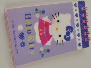 Hello Kitty Change Color Note Pads Memo Notebook