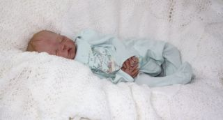 Doves Nursery ♥ Sweet Real Life Newborn Reborn Baby Girl ♥A Joanna Gomes Sculpt