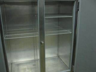 Victory 2 Two Door Stainless Steel Commercial Freezer VF 2