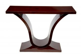 Rosewood Oggee Art Deco Console Table Hall Tables Furniture