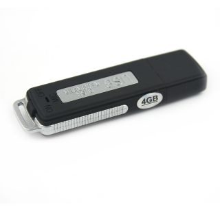Spy 4GB USB Pen Disk Flash Drive Digital Audio Voice Recorder 70 Hours Recording
