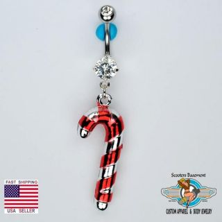 Gem Dangle Belly Ring