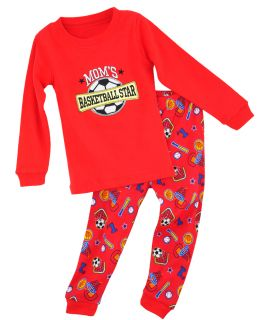 Baby Toddler Children Kids Boys Cute Sleepwear Tops Pants Pajamas Set 2T 7T