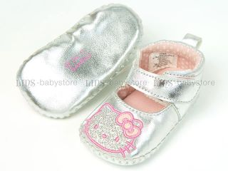New Toddler Baby Girl Pink Cute Cat Kitty Mary Jane Shoes 3 6 9 12 Months