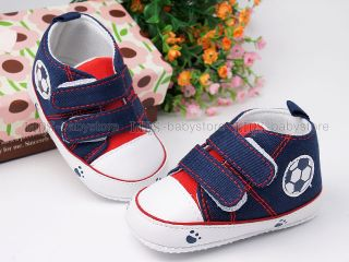 New Toddler Baby Boy Blue Casual Shoes 9 12 Months A863