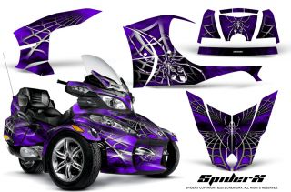 Can Am BRP Spyder RT RT s Graphics Kit Creatorx Decals Spiderx SXPR