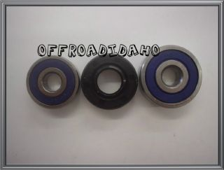 Front Wheel Axle Bearings Seal Kit Suzuki RM50 RM60 RM80 DS80 78 00