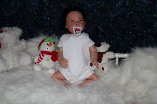 Reborn Doll Anatomically Correct Soft as Silicone Baby Boy Kai by J de Lange