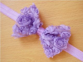 10pcs Kids Girl Baby Toddler Lace Flower Bowknot Headband Hair Band Accessories
