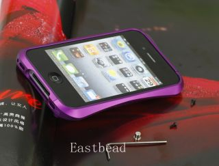 Non Vapor Blade Aluminum Bumper Metal Element Case Cover for iPhone 4 4S 4G Hot