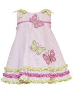 RARE Editions Butterfly Dress Size 9 Months Baby Girls Boutique Clothing